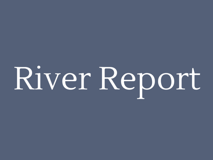 River Report September 2017