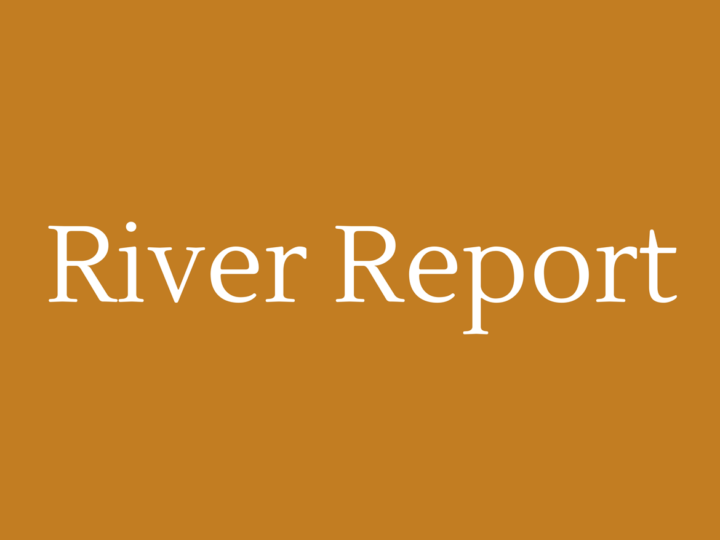 River Report September 2018