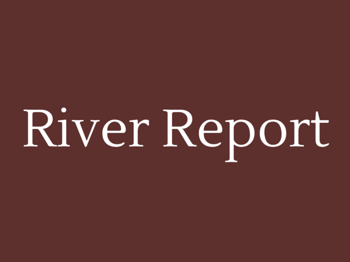 River Report May 19